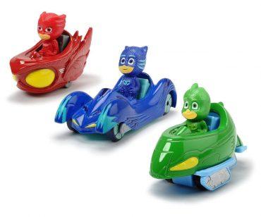 لعبة مركبات DICKIE - PJ MASKS 3-PACK SET