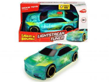 لعبة سيارة سباق DICKIE - LIGHTSTREAK TUNER FRICTION 20CM