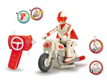 لعبة سيارة السباق DICKIE - TOY STORY DUKE CABOOM MOTORCYCLE