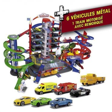 لعبة كراج السيارات MAJORETTE - Super City Garage