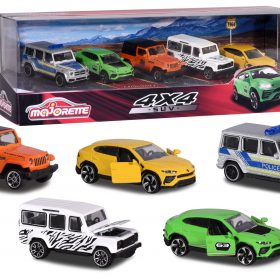 لعبة مجموعة من 5 سيارات MAJORETTE - SUV 5 pcs Giftpack