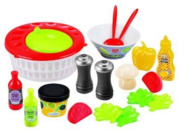 لعبة أدوات السلطة Ecoiffier Set - Mixed salad set