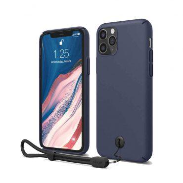 Elago Slimfit Strap Case for iPhone 11 Pro Max -  Jean Indigo_x000D_