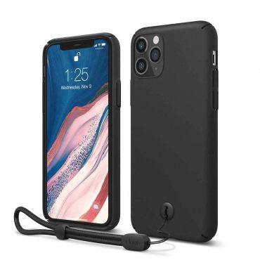 Elago Slimfit Strap Case for iPhone 11 Pro Max - Black_x000D_