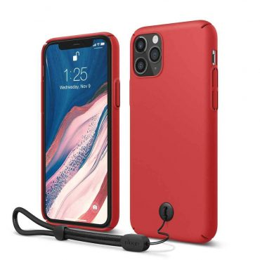 Elago Slimfit Strap Case for iPhone 11 Pro - Red_x000D_