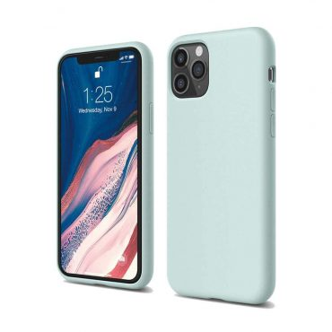 Elago Silicone Case for iPhone 11 Pro Max - Baby Mint_x000D_