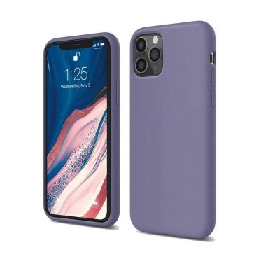 Elago Silicone Case for iPhone 11 Pro Max - Lavender Gray_x000D_