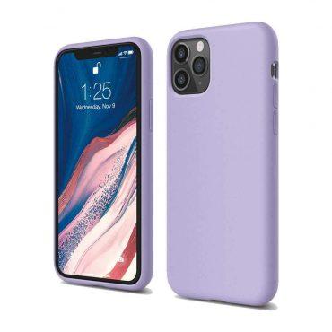 Elago Silicone Case for iPhone 11 Pro Max - Lavender_x000D_