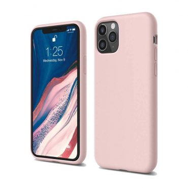 Elago Silicone Case for iPhone 11 Pro Max - Lovely Pink_x000D_