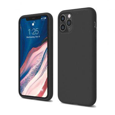 Elago Silicone Case for iPhone 11 Pro - Black_x000D_