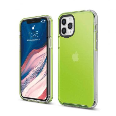 Elago Hybrid Case for iPhone 11 Pro Max - Neon Yellow_x000D_