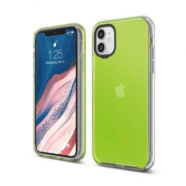 Elago Hybrid Case for iPhone 11 - Neon Yellow_x000D_