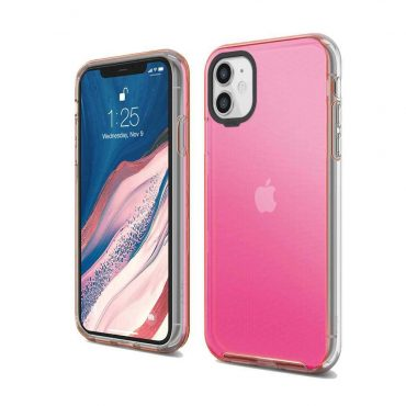 Elago Hybrid Case for iPhone 11 - Neon Pink_x000D_
