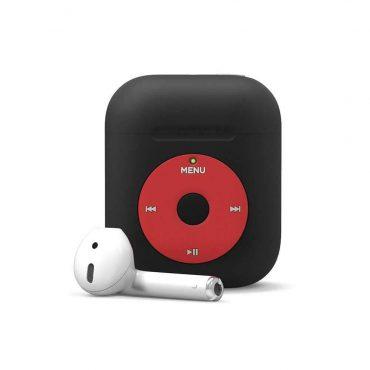 حافظة مميزة AW6 لسماعات Apple من  Elago - أسود