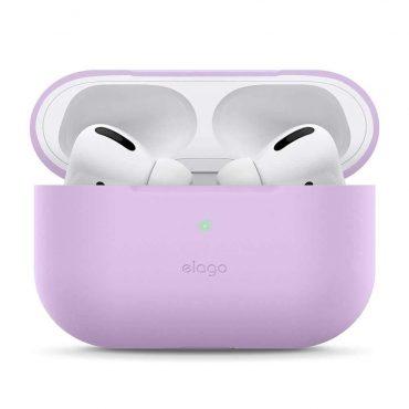 حافظة مميزة لسماعات Airpods Pro من Elago - أرجواني