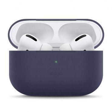 حافظة مميزة لسماعات Airpods Pro من Elago - أزرق غامق