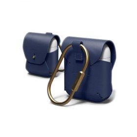 غطاء جلدي لسماعة سيليكون الجيل الثاني من Elago - أزرق غامق