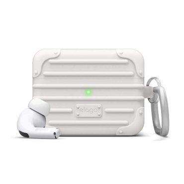 علبة Apple Airpods Pro Elago - أبيض