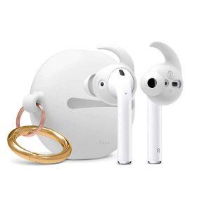 كفر سماعة Elago - Hook Earbuds Cover with Pouch for Apple Airpods - أزرق