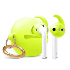 كفر سماعة Elago - Hook Earbuds Cover with Pouch for Apple Airpods - أصفر