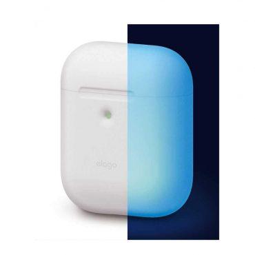 غطاء سماعة سيليكون من الجيل الثاني Elago - أزرق فاتح
