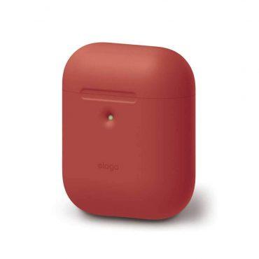 غطاء سماعة سيليكون الجيل الثاني من Elago - أحمر