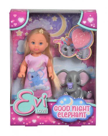 لعبة دمية مع فيل SIMBA - EL Good Night Elephant
