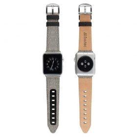 حزام ساعة EVUTEC APPLE WATCH BAND 44MM - أسود
