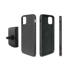 كفر موبايل EVUTEC AER KARBON WITH AFIX FOR IPHONE 11 Pro - أسود