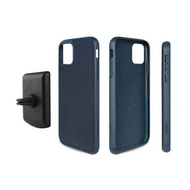 كفر موبايل  EVUTEC AERGO BALLISTIC NYLON WITH AFIX IPHONE 11 Pro Max - أزرق