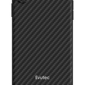 كفر موبايل EVUTEC AER KARBON WITH AFIX FOR IPHONE XS MAX  - أسود