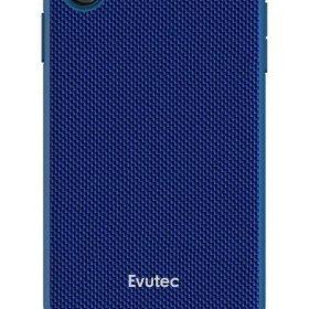 كفر موبايل EVUTEC AERGO BALLISTIC NYLON WITH AFIX IPHONE XS MAX  - أزرق