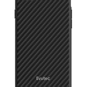 كفر موبايل EVUTEC AER KARBON WITH AFIX FOR IPHONE 8/7/6S/6 - أسود