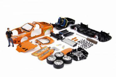 لعبة سيارة برتقاليJADA - Build+Collect Supra