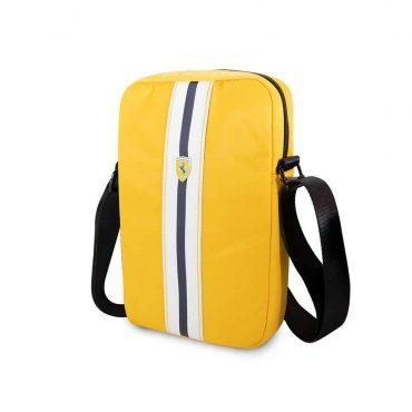 حقيبة تابلت نايلون Pista مع شعار فيراري مقاس 10 إنش من Ferrari - أصفر