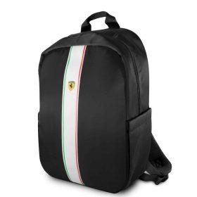 حقيبة ظهر Pista مع شعار فيراري مقاس 15 إنش مع كابل شحن من Ferrari - أسود