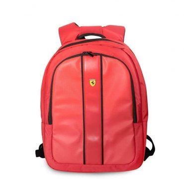 حقيبة ظهر 15 إنش مع كابل شحن أصلي من فيراري - أحمر