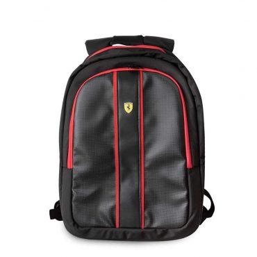 حقيبة ظهر 15 إنش مع كابل شحن أصلي من فيراري - أسود