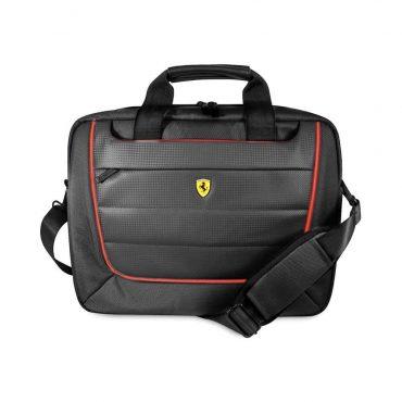 حقيبة لابتوب 13 بوصة Ferrari Scuderia Computer Bag - أسود