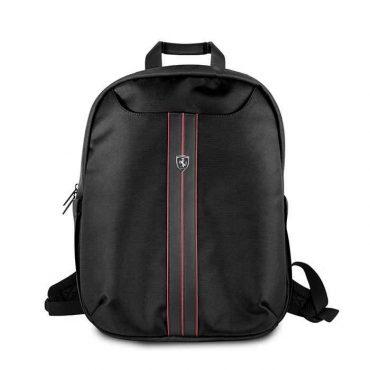 حقيبة ظهر فاخرة 15 إنش من فيراري - أسود