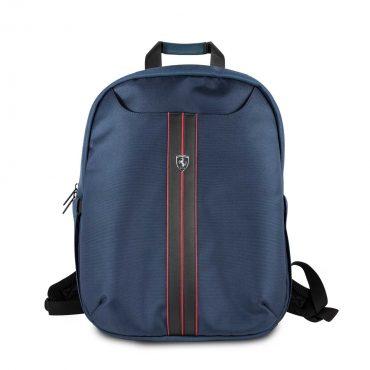 حقيبة ظهر فاخرة 15 إنش من فيراري – أزرق غامق