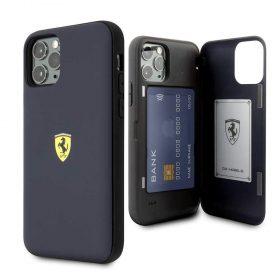 كفر قوي PC/TPU لآيفون 11 Pro من Ferrari - كحلي