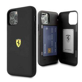 كفر قوي PC/TPU لآيفون 11 Pro من Ferrari - أسود
