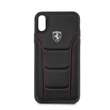 كفر جلدي أصلي Heritage 488 لآيفون Xr من Ferrari - أسود
