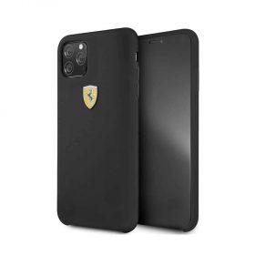 كفر سيليكون بشعار فيراري الأصلي لآيفون 11 Pro Max  - أسود