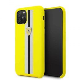 كفر سيليكون لآيفون 11 Pro من فيراري - أصفر