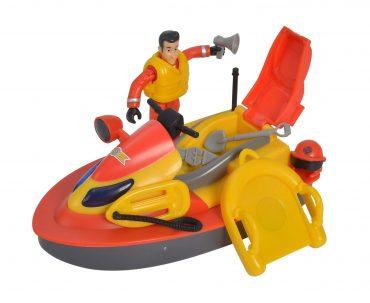 لعبة عربة تزلج رجل الإطفاء SIMBA - Sam Juno Jet Ski incl