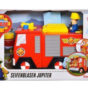 لعبة فقاعات الماء على شكل سيارة الإطفاء SIMBA - Fireman Sam Bubble Jupiter