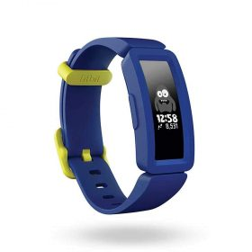 سوار المعصم الرياضي Ace 2 من Fitbit - أسود/ أزرق (للأطفال)