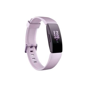 سوار المعصم الرياضي HR مع متتبع ضربات القلب من Fitbit - أرجواني/ أرجواني